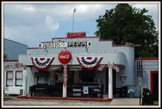 Royer's Cafe in Round Top, TX. Some of the best food I've ever eaten. Its a hole in the wall but good memory maker