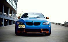 BMW E92 M3 in matte blue with bronze trim http://tomandrichiehandy.myvi.net/