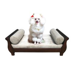 Found it at Wayfair - Sleigh Dog Chair  next to the piano