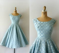 Hey, I found this really awesome Etsy listing at https://www.etsy.com/listing/217291735/1950s-vintage-dress-50s-light-blue-party