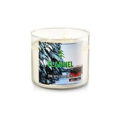Flannel 3-Wick Candle ($13) ❤ liked on Polyvore featuring home, home decor, candles & candleholders, scented candles, flannel candle, fragrance candles, 3 wick candles and three wick scented candles