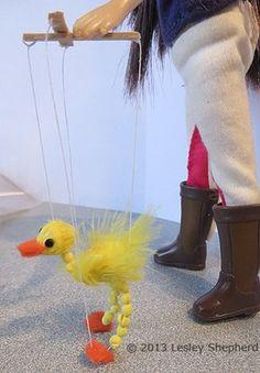 how to: walking bird marionette