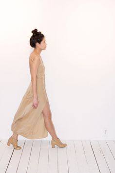 CHAO WU LONG PLEATS DRESS