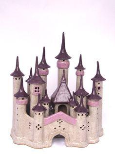 Handbuilt Ceramic Castle Enchanted hand built ceramic by ClaySoul, $650.00