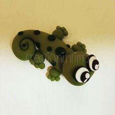 #fimo #creazioninfimo #handmade #animali #lizard #gecko #geco#animal