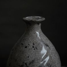 Korean Tokkuri (sake bottle) / flower vase - early 1900s porcelain. Available soon from #refugeconceptspace and online - www.slambourn-hull.com #koreanantique #sakebottle #antique #porcelian #ceramic