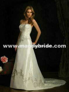 Wedding Dress Waist Decoration,Satin Ribbon Rhinestone Embroidery Belt Laliva Wedding Belt Color: White