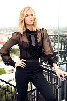 charlize therone sheer outfit