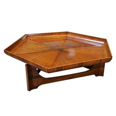 1960s Jacaranda Coffee Table by Zalszupin | From a unique collection of antique and modern coffee and cocktail tables at https://www.1stdibs.com/furniture/tables/coffee-tables-cocktail-tables/