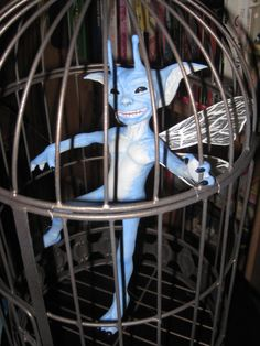 Harry Potter Cornish Pixie prop...Once upon a time he was a Bratz doll ;o)...Sooo much better now.