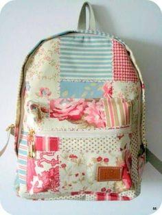 moldes de mochilas escolares de tecido