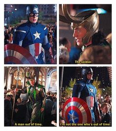 Captain America & Loki