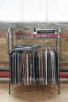 Record storage Urban Outfitters