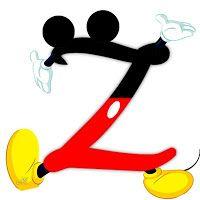 alfabeto de mickey gommettes see more 8 oh my alfabetos alfabeto de