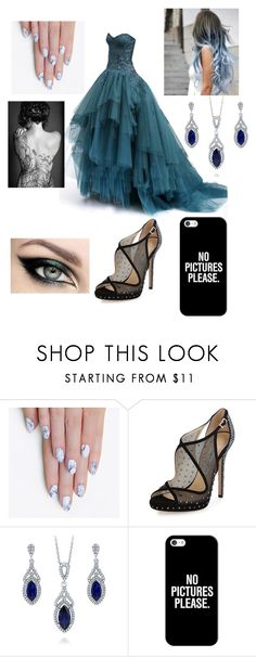 """""""Untitled #53"""" by savedbybands ❤ liked on Polyvore featuring alfa.K, Jimmy Choo, BERRICLE and Casetify"""