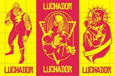 LUCHADOR PACK #3 by arace on @creativemarket