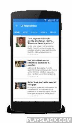 Italia News | Italia Notizie  Android App - playslack.com ,  Italia News is a fast and easy way to read news on Android. It gives you easy access to read the most popular newspapers from Italia.Newspaper available: La Repubblica, Corriere della Sera, La Gazzetta dello Sport, Sky, Affaritaliani, Tuttosport, Corriere dello Sport, Il Sole 24 Ore, La Stampa, il Giornale, Google Notizie, Yahoo! Notizie, Tiscali, Leggo, Il Messaggero, Quotidiano Net, Il Mattino, Il Gazzettino, Rai News..Features…
