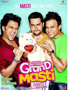 TV premiere of sex comedy 'Grand Masti' stayed by the Delhi High Court!