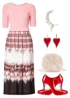 """""""Altuzarra bold skirt"""" by art-gives-me-life ❤ liked on Polyvore featuring Altuzarra, Christian Louboutin, Sole Society, Cristina Ortiz, contestentry and thirtyplus"""
