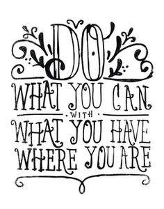 aplaceforart:  DO WHAT YOU CAN… by Matthew Taylor Wilson / more arthere
