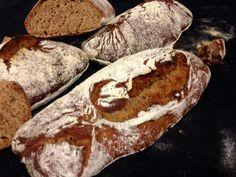 Pain de tradition française avec farine de châtaigne