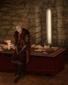 """""""I hoped you'd stop by."""" - Commander Cullen"""