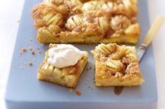 Das Rezept für Apfelkuchen mit Karamellkruste und weitere kostenlose Rezepte auf LECKER.de