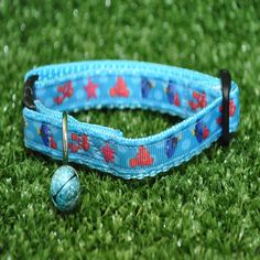 Bubbles Finding Nemo Blue Tang Fish Cat Kitten Puppy Small Dog Collar Inspired by Finding Nemo **EXCLUSIVE** by DottiesPetBoutique on Etsy