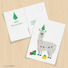 New holiday cardsare here and ready for some seasonally-(in)appropriate fun!