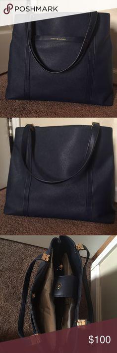 Tommy Hilfiger Navy Arianna Handbag Brand new. Tissue paper inside. Beautiful large bag. Tommy Hilfiger Bags