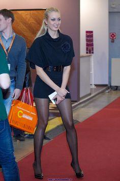Beautiful long legs