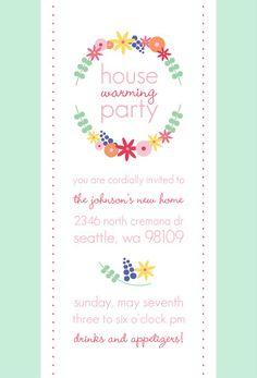 Consider For Housewarming Invites  Celebrations