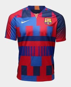 Barcelona 2018 Nike Commemorative kit Barcelona 2018, Barcelona Shirt, Football Tops, Football Soccer, Basketball, Fc Barcelona Wallpapers, Jersey Atletico Madrid, Lionel Messi, Shirts