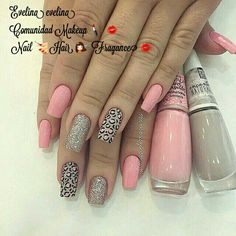 These nail designs will be your indispensable. Stamp this summer with the latest trend nail designs. these great nail designs will perfect you. Pink Acrylic Nails, Pink Nails, Leopard Nails, Gel Nails, Stylish Nails, Trendy Nails, Jolie Nail Art, Acryl Nails, Nail Art Designs Videos