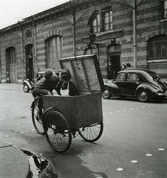 Photos of Paris in by Robert Doisneau. Photos of Paris in by Robert Doisneau.