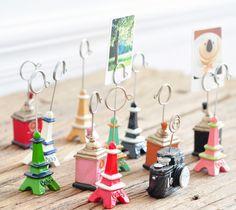 3 pieces Retro Creative Home Desktop Memo Clip Card Holder Photo Stand  16072707