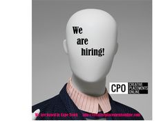 Staff Recruitment, Recruitment Agencies, We Are Hiring, Cape Town South Africa, Online Jobs, Board, Creative, Sign, Planks