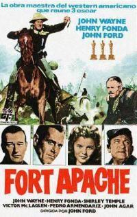 Fort Apache - John Wayne with Henry Fonda, Shirley Temple