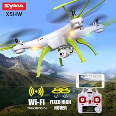 Best choice with US $59.90 SYMA X5HW RC Quadrocopter Drone With Camera Wifi FPV HD Real-time Transmit RC Helicopter Quadcopter Dron Drones Toy Hover   #quadrocopter #drone #camera #transmit #helicopter #quadcopter #drones #hover