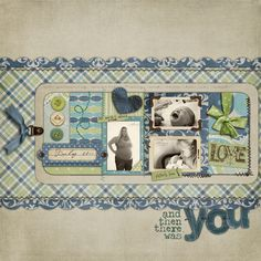 there was you - the Shabby Shoppe Scrapbooking Gallery