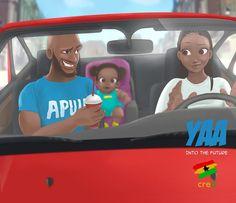 Thursday Yaa Great Bosses You have the ability to acquire and apply knowledge… Black Love Art, Black Girl Art, Ghanaian Names, Ghana Art, Black Cartoon, Cartoon Art, Arte Black, Good Boss, Natural Hair Art