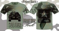 U.S ARMY T-SHIRT DESIGNED BY STREETWEAR INK by ~StreetWearinc on deviantART