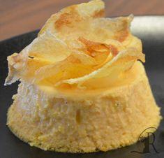 Flan di zucca con chips di patate   Il Cantuccio di Romeo