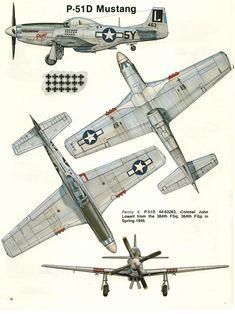 Aircraft Photos, Ww2 Aircraft, Fighter Aircraft, Military Aircraft, Air Fighter, Fighter Jets, Mustang Drawing, P51 Mustang, Ww2 Planes