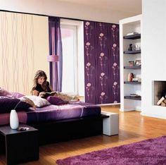 Lovely purple room + recamara + interiores + morado