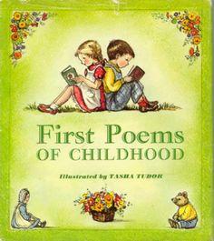 Cellar Door Books: FIRST POEMS OF CHILDHOOD. Tudor, Tasha - The World of Tasha Tudor