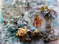 eleele-handmade: Mixed Media Canvas