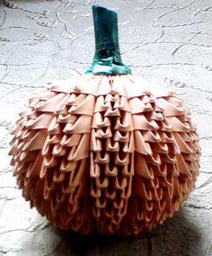 Pumpkin… – Album – Mohammad Nofal – Page 2306 – Origami Art Origami Artist, Origami 3d, Origami Ideas, Modular Origami, Origami Pumpkin, Arts And Crafts, Paper Crafts, Quilling, Album