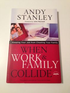 I love Andy Stanley, and this book is excellent.  He makes you think about how to manage your work life and still invest in your family.  This is a challenge for a lot of people and this book brings an interesting perspective.