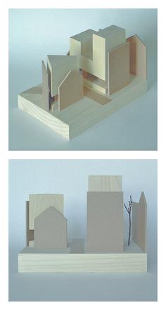 Finn Wilkie - Form & Boundary - 2014 www.finnwilkie.com, architectural model, maquette, modelo